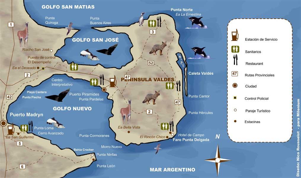 carte-péninsule-Valdés